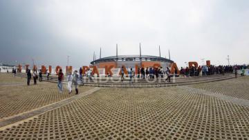 Situasi Stadion Pakansari.