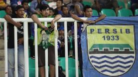 Suporter Persib Bandung.