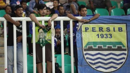 Suporter Persib Bandung. - INDOSPORT