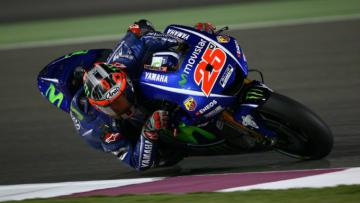 Maverick Vinales tampil memimpin di latihan bebas ketiga MotoGP Qatar.
