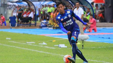 Bek kanan Arema FC, Syaiful Indra Cahya. - INDOSPORT