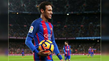 Neymar Jr, striker Barcelona. - INDOSPORT