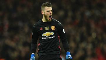 Kiper andalan Manchester United, David de Gea.