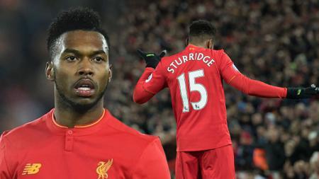 Daniel Sturridge penyerang Liverpool. - INDOSPORT