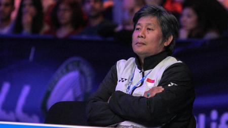 Pelatih Herry IP, pelatih ganda putra Indonesia. - INDOSPORT