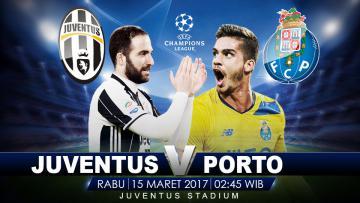 Juventus vs Porto.