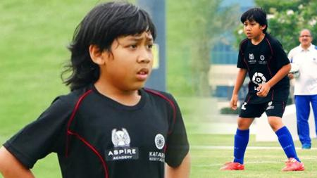 Abdurrahman Iwan saat mengikuti coaching clinic dari La Liga. - INDOSPORT