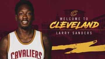 Larry Sanders resmi bergabung dengan Cleveland Cavaliers.