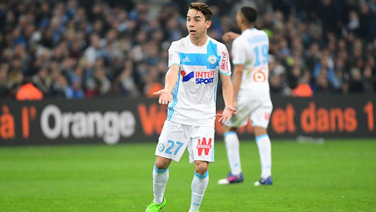 Maxime Lopez, wonderkid calon suksesor Coutinho di Marseille. Copyright: Dave Winter/Icon Sport