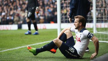 Striker andalan Tottenham Hotspur, Harry Kane.