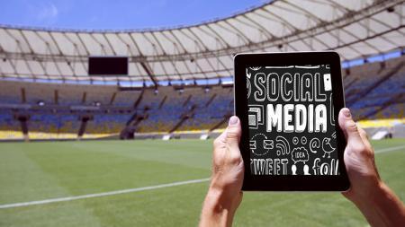Ilustrasi sosial media dan olahraga. - INDOSPORT