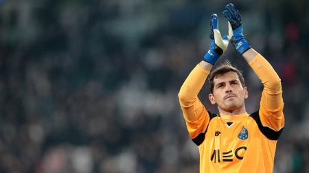 Iker Casillas pasca melawan Juventus. - INDOSPORT