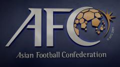 Indosport - Logo Konfederasi Sepakbola Asia (AFC).