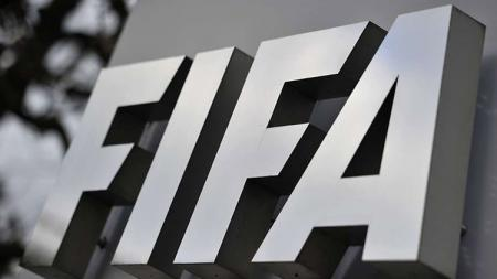 Logo resmi FIFA. - INDOSPORT