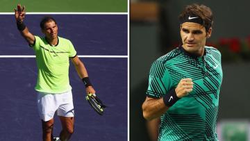 Roger Federer akan berhadapan dengan Rafael Nadal.
