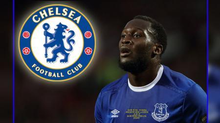 Penyerang Everton, Romelu Lukaku. - INDOSPORT