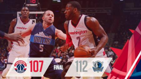 Dallas Mavericks sukses menggulung Washington Wizards. - INDOSPORT