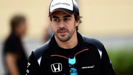 Pembalap McLaren-Honda, Fernando Alonso. - INDOSPORT