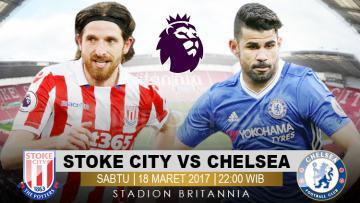 Prediksi Stoke City vs Chelsea.