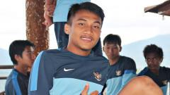Indosport - Gelandang Timnas Indoesia U-22, Muhammad Hargianto.