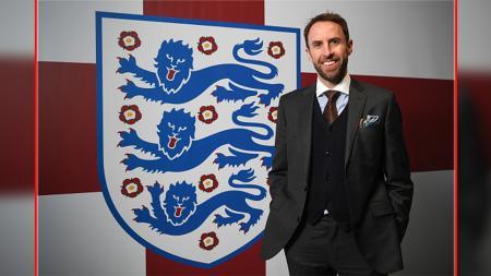 Gareth Southgate tak akan dipecat FA meskipun Timnas Inggris memalukan di Euro 2020. - INDOSPORT
