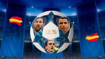 Ilustrasi Liga Champions yang didominasi oleh tim-tim Spanyol.