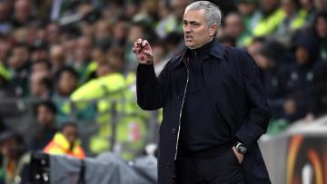 Jose Mourinho, pelatih Manchester United.