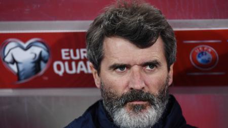 Roy Keane yang kini menjadi asisten pelatih Timnas Irlandia. - INDOSPORT