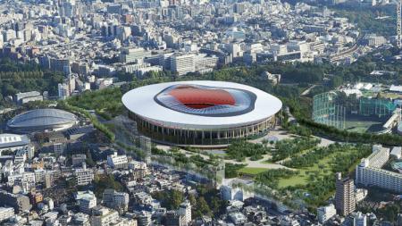 Salah satu desain venue Olimpiade Tokyo 2020. - INDOSPORT