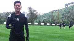 Indosport - Andri Syahputra saat sedang berada di Malaga pada Februari lalu.