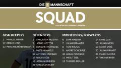 Indosport - Susunan 24 pemain yang dirilis oleh DFB (PSSI-nya Jerman).