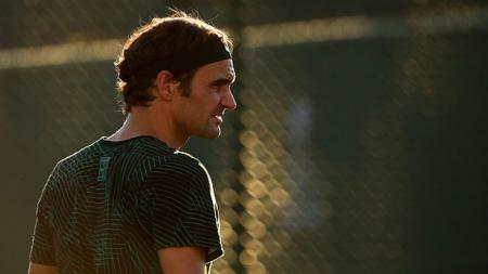 Petenis asal Swiss, Roger Federer. - INDOSPORT