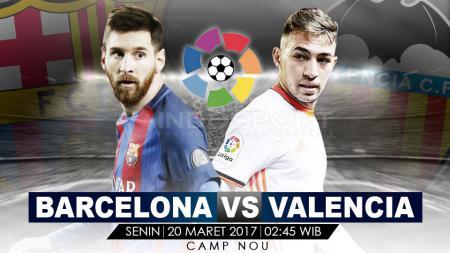 Prediksi Barcelona vs Valencia. - INDOSPORT
