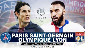 Prediksi PSG vs Olympique Lyon.