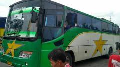 Indosport - Ilustrasi bus.