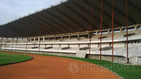 Stadion Barombong, Makassar direncanakan rampung tahun 2019 ini. - INDOSPORT