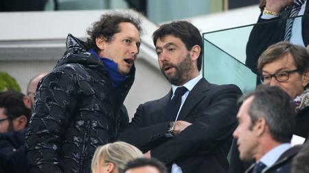 Presiden Juventus, Andrea Agnelli. - INDOSPORT