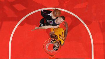 Blake Griffin saat melawan Cavaliers di Staples Center.