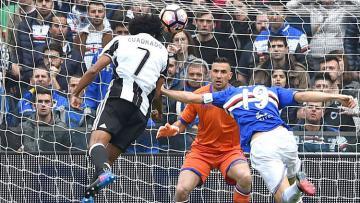 Juan Cuardrado menjadi penentu kemenangan 1-0 Juventus atas Sampdoria.