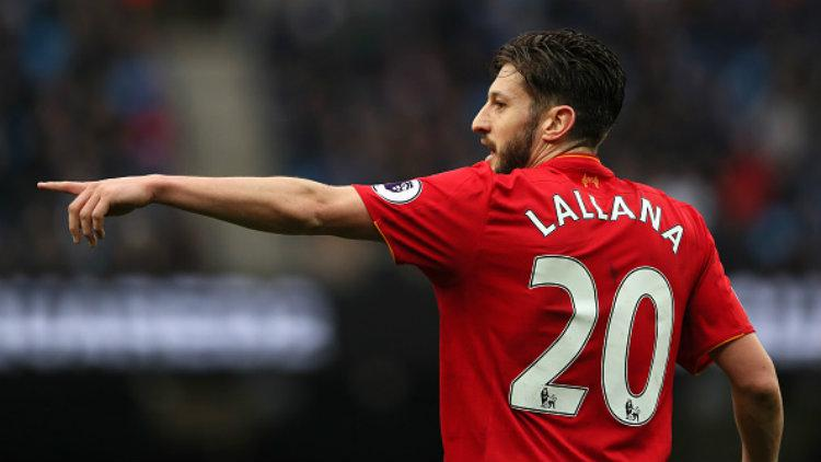 Gelandang Liverpool, Adam Lallana. Copyright: Matthew Ashton - AMA/Getty Images
