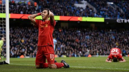 Penyerang Liverpool, Roberto Firmino. - INDOSPORT