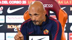 Indosport - Pelatih AS Roma, Luciano Spalletti.
