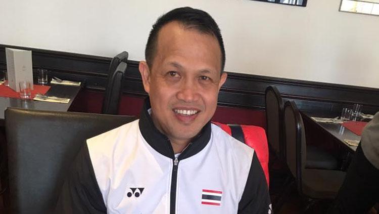 Pelatih bulutangkis Thailand, Rexy Mainaky. Copyright: Henny Mainaky