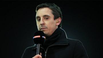 Mantan pemain Manchester United, Gary Neville yang kini bekerja sebagai pundit.