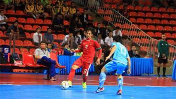 Timnas Futsal Indonesia vs Laos.