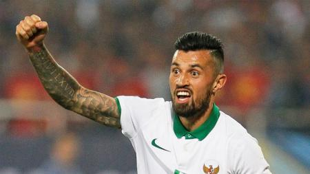 Pemain Tim Nasional (Timnas) Indonesia di Piala AFF 2016, Stefano Lilipaly. - INDOSPORT