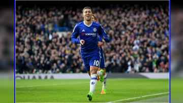 Eden Hazard, pemain megabintang Chelsea asal Belgia.