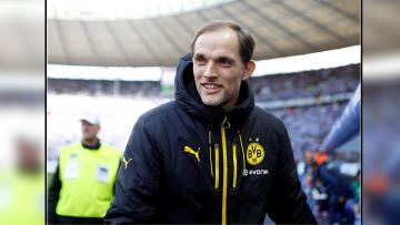 Thomas Tuchel, pelatih Borussia Dortmund.