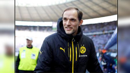 Thomas Tuchel, pelatih Borussia Dortmund. - INDOSPORT