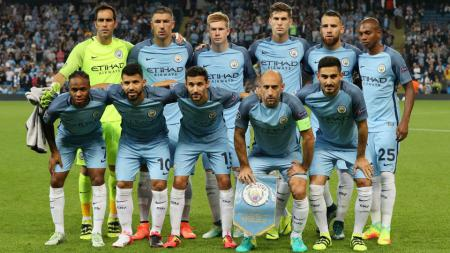 Skuat Man City. - INDOSPORT